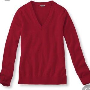 L.L. BEAN 100% Cashmere Sweater, Medium